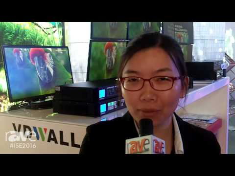 ISE 2016: VDWall Showcases Processor for Video Wall