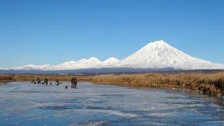 Рыбалка на Камчатке.  Корюшка. Открытие зимнего сезона.(, 2016-11-09T12:38:33.000Z)