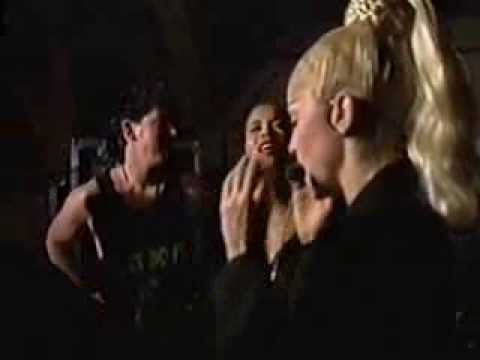 MADONNA Blond Ambition Tour in East Rutherford MTV Pre show Report from Backstage