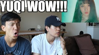 (여자)아이들((G)I-DLE) - HAAN '한(一)' Official Music Video REACTION [YUQI GOT US SHOOK!!!]