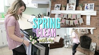 SPRING CLEAN WITH ME & SPRING DECOR | MAJOR CLEANING MOTIVATION