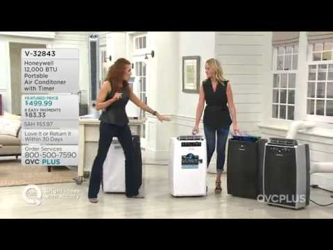 QVC Plus - Honeywell 12,000 BTU Portable Air Conditioner ...
