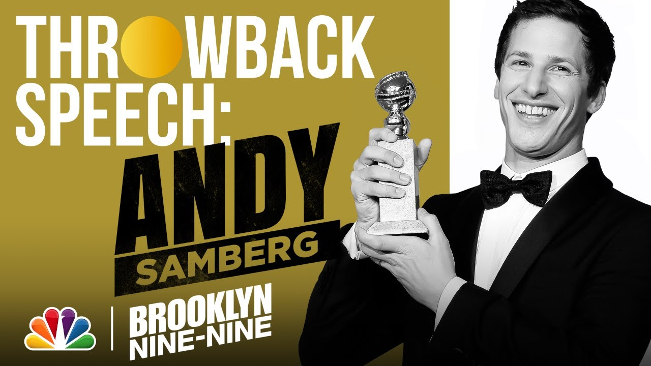 Andy Samberg's 2014 Win for Best Actor in a Comedy - The Golden Globe Awards