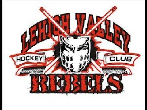 Hatfield Ice Hawks vs   Lehigh Valley Jr Rebels 10 01 2017