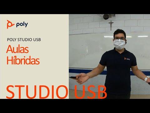 Educação à distância com o Poly Studio (Português)