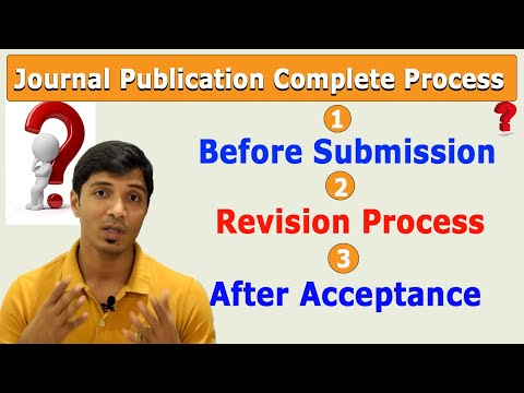 A Complete Research Paper Journal Publication Process