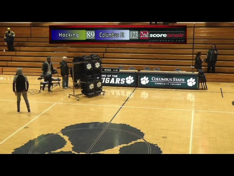 Columbus State vs Hocking - Men's College Basketball - Score On-Air