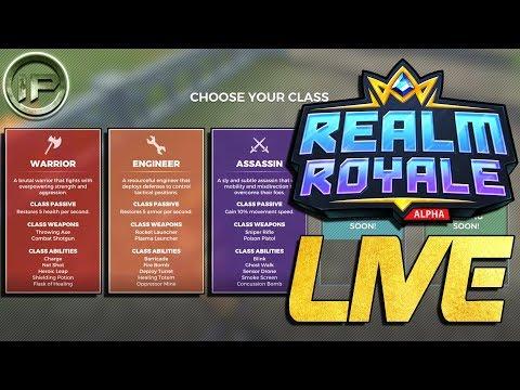 PALADINS : REALM ROYALE | ROAD TO RANK 1