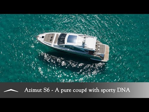 Azimut S6 - A pure coupé with sporty DNA