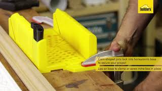 Tools and Accessories - Stanley Mitre Box and Saw