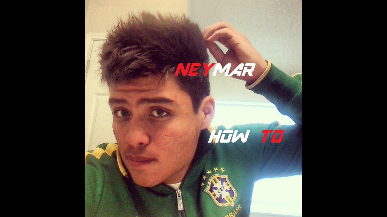 New 2013 Neymar Hairstyle Tutorial Youtube