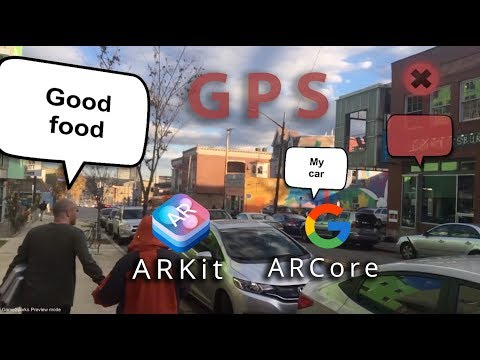 NOT An Augmented Reality Tutorial: GPS AR with ARCore ARKit in Unity with Mapbox