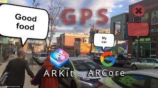 GPS ARCore ARKit ile Birlik içinde Mapbox ile AR DEĞİL Artırılmış Gerçeklik Öğretici: