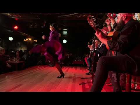 Gloria del Rosario - Concurso de baile flamenco Villa Rosa