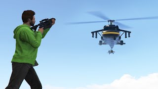 BOMBERS vs CHOPPERS!! (GTA 5 Funny Moments)