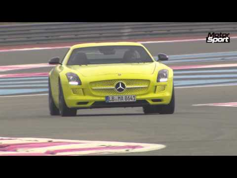 Mercedes SLS AMG Electric Drive on track (Motorsport)