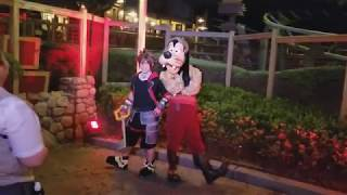 【Disney World】Sora face character meet and greets!【Kingdom Hearts】