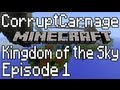 Minecraft Kingdom Of The Sky Episode 1 - Hidden Fall & Cave