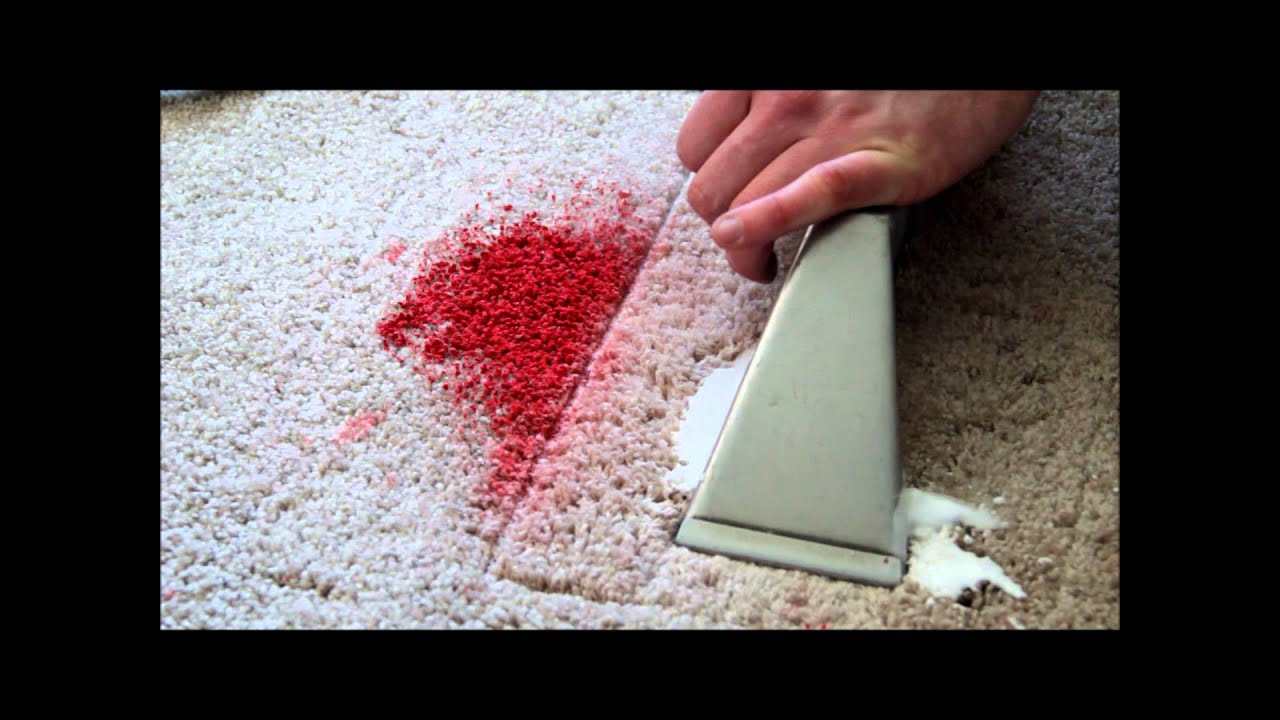 How to get Paint out of Carpet - YouTube
