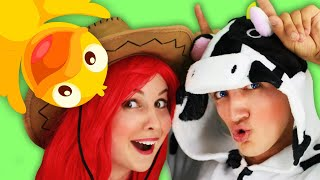 Farm Animals Song + More Nursery Rhymes for Kids. Sing Along With Tiki.