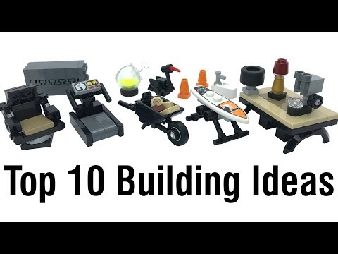 Top 10 LEGO Easy & Clever Building Ideas Anyone Can Make #8