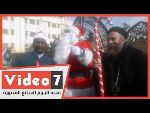وحدة الوطنية ومشاعر صادقة تتجلى باحتفالات عيد الميلاد في كاتدرائية العباسية