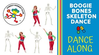 Boogie Bones Skeleton Dance | Halloween Songs for Kids | Learn the Dance