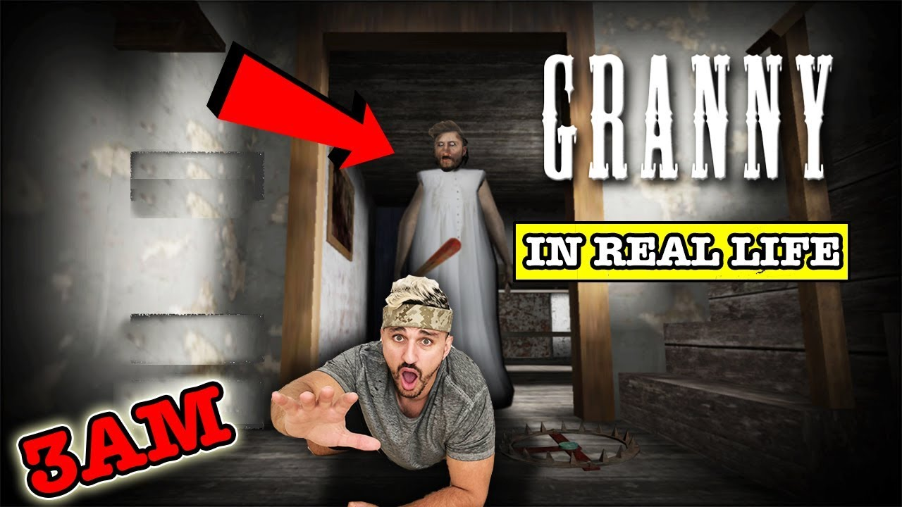 YouTube - Granny Car Escape In Real Life! Horror Game ...