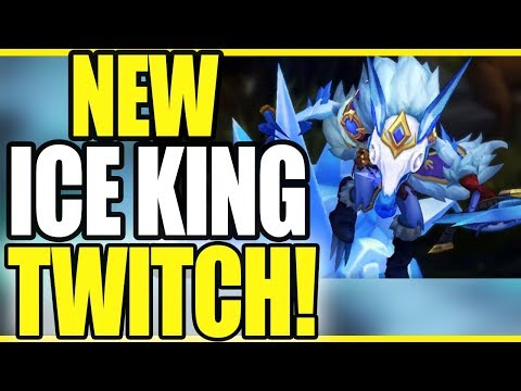 ICE KING TWITCH! THIS IS HIS BEST SKIN! - League of Legends