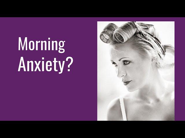 Am I Really Having Morning Anxiety? #shorts