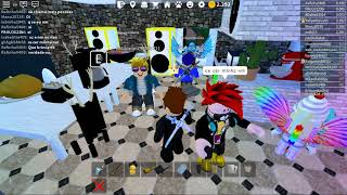 Playing roblox with my friend Rai and celebrating ja q it doesn't come long in our videos