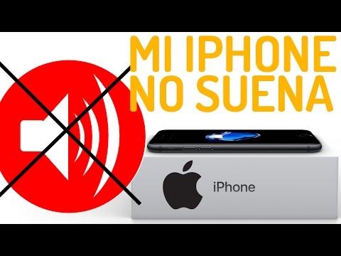 Porque mi iPhone no suena, no se escucha cuando me llaman ni notificaciones ni llamadas