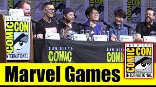MARVEL GAMES | Comic Con 2018 Full Panel (Marvel Powers United VR & Marvel Battle Lines)