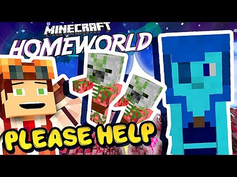 Lapis...HELP ME 😱  • Homeworld: Steven Universe Let's Play in Minecraft! [#8]