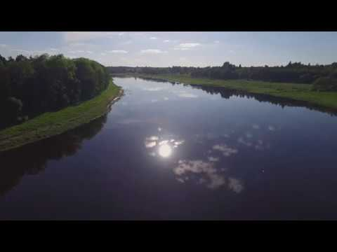 One day with nature: Daugava river drone flight view, relaxing Latvian forest birds sounds #9
