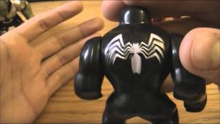Lego V-Log - Фигурки Venom, Goblin, Hulkbuster