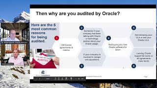 6 reasons why Oracle is auditing your company