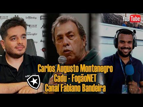 "Carlos Augusto Montenegro rebate crítica de Denilson ao Botafogo: ""Nunca ganhou nada"""