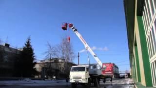 видео Автомобильный кран Челябинец КС-55732-28