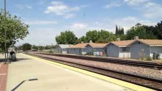 07/31/2015 Merced St., California BNSF鉄道の貨物列車です。カリフォ...