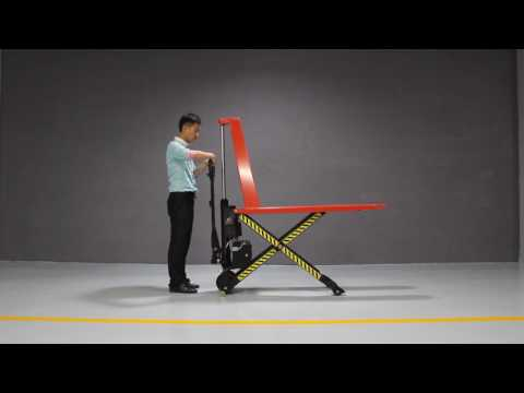 Semi-electric High lifting pallet truck (Single cylinder)
