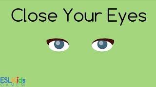 ESL Game Close Your Eyes