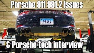 Porsche 911 issues and Porsche technician interview