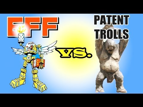 Patent troll James Logan sues podcasters, EFF to the rescue!