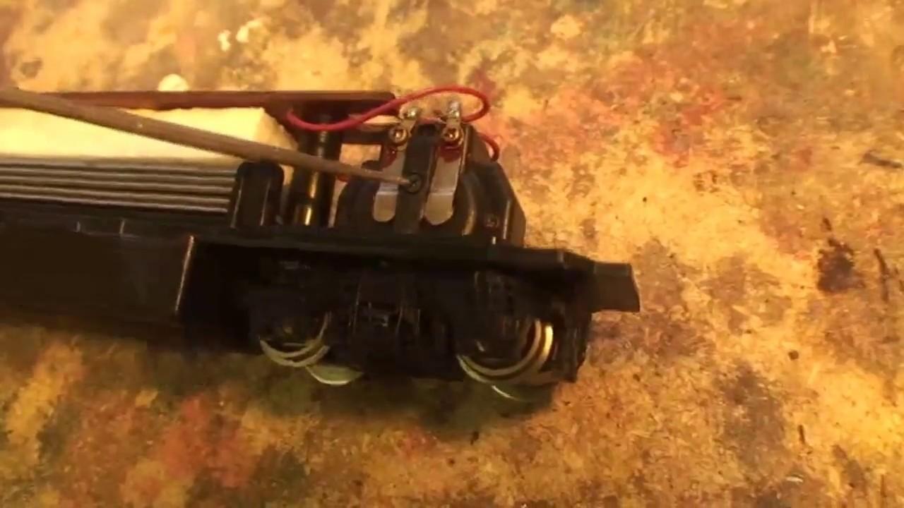 HO Scale Bachmann U36B Pancake Motor Rebuild Part 1