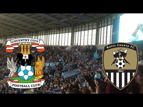 MATCHDAY EXPERIENCE Coventry City VS Notts County Play Off Semi Final 1st Leg