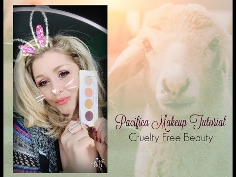 Cruelty Free Beauty Tutorial for  Pacifica Products