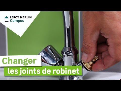 Changer un robinet doovi - Comment changer un robinet de lavabo ...