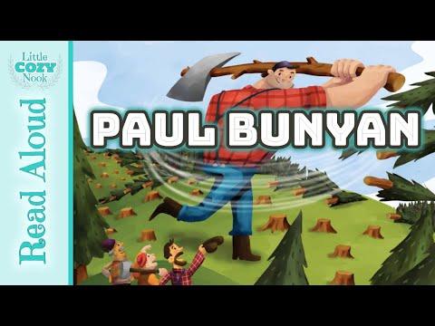Paul Bunyan Read ALOUD - Stories and Tall Tales for Kids - Homeschool READ ALOUDS
