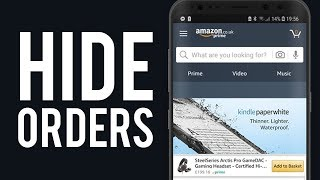 How To Hide Amazon Order History on App [Working Solution]